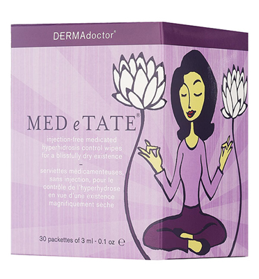 DERMAdoctor 'MED e TATE' Medicated Hyperhidrosis Control Wipes
