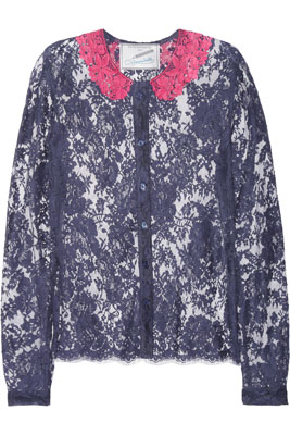FAITH CONNEXION Annabelle Dexter-Jones lace blouse