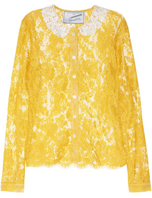 FAITH CONNEXION Annabelle Dexter-Jones lace-blouse
