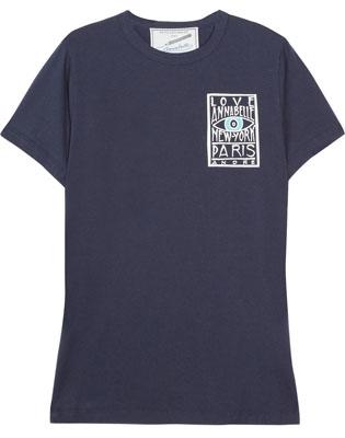 FAITH CONNEXION Annabelle Dexter-Jones printed cotton T-shirt