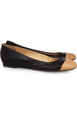 J. Crew Cece Leather Ballet Flats