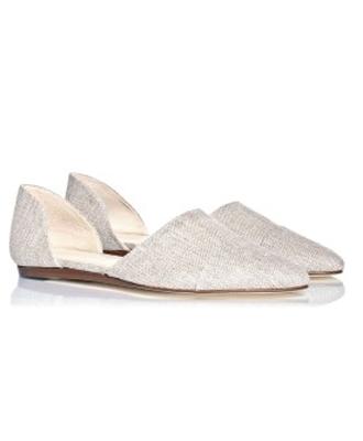 Jenni Kayne Linen d'Orsay Flats
