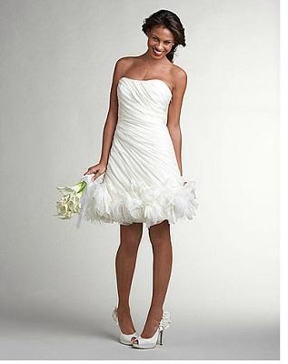 Julie Benz Reception Dress