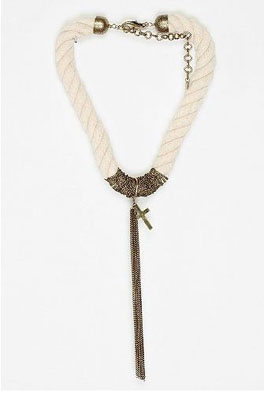 MFP for Urban Outfitters Wrapped Chain Necklace