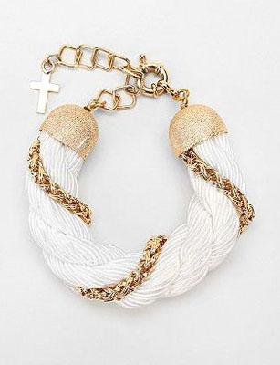 MariaFrancescaPepe Rope Tubular Bracelet