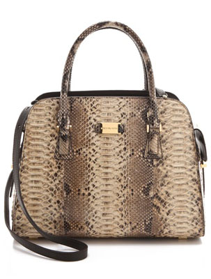 Reduced Michael Kors Gia Satchels - 2012 The 10 Most Popular Handbags According To 130 Million Internet Searches Michael Kors Collection Python Gia Satchel