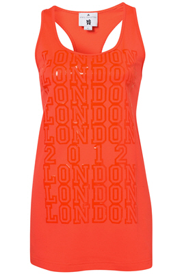 Stella McCartney for Adidas My 2012 Perforated sports vest