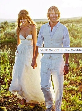 Sarah Wright Wedding Photo