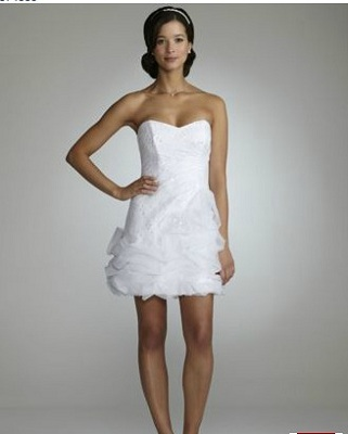 Strapless Sequin Gown with Tulle Pick Up Skirt
