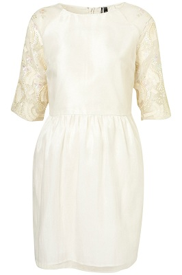 Topshop Limited edition organza tulip dress