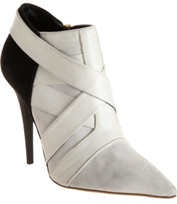 Two-Tone Ankle Boot