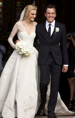 Caroline Trentini Wedding