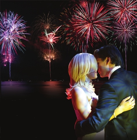 Fireworks: Surprise everyone -- guests and groom!