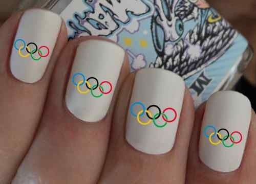 Olympic Nail Designs 7