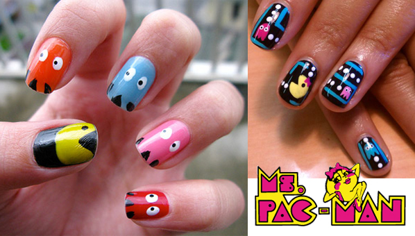 Super Nintendo Sega Genesis Check Out This Crazy Video Nail Art We Found