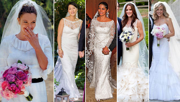 Celebrity weddings 2012 celebrity wedding dresses wedding dress celebrities have access to the best of everything especially when it comes to weddings us mere mortals may not have vera wang on speed dial junglespirit Gallery