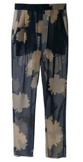 3.1 Philip Lim Floral Pants