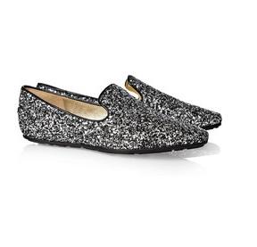 Jimmy Choo Glitter Loafers