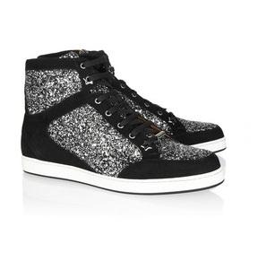 Jimmy Choo Tokyo Glitter Sneakers