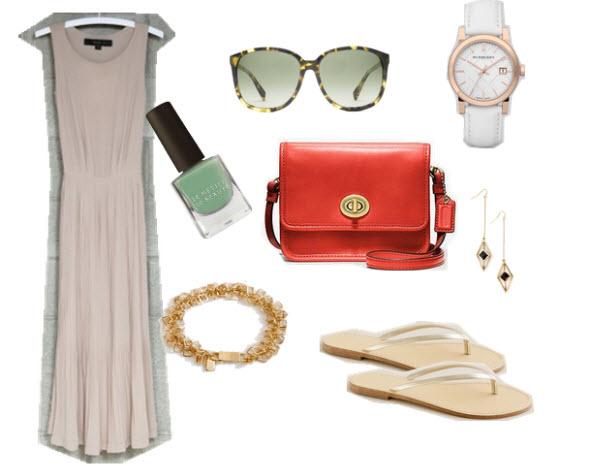 3. Maxi Dress, Summer
