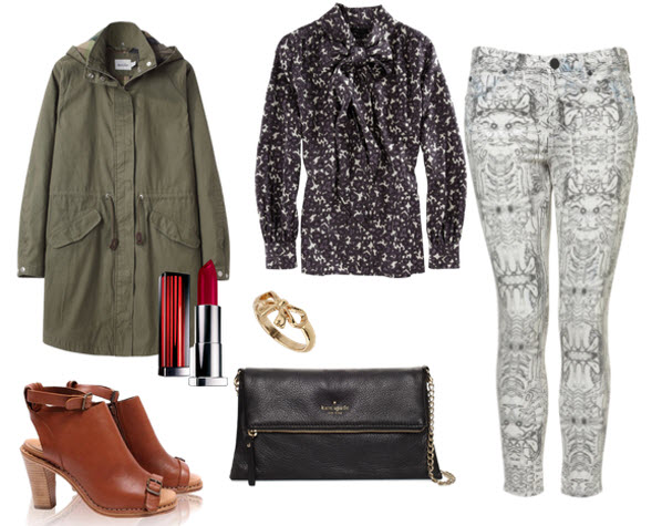 6. Printed Pants, Fall
