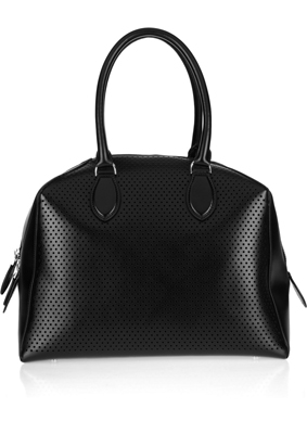 Alaïa Perforated leather tote