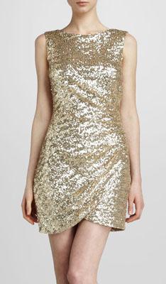 Ali Ro Sequined Sheath Dress