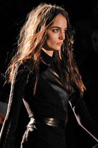 Fall 2012 Beauty Trends Messy Hair