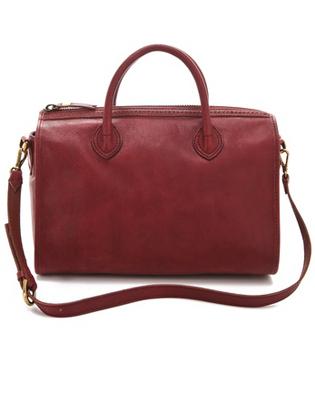 Madewell Heritage Leather Satchel