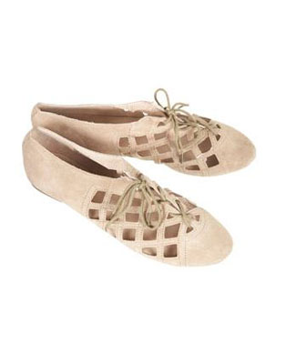 Merrily Open Laceup Shoes