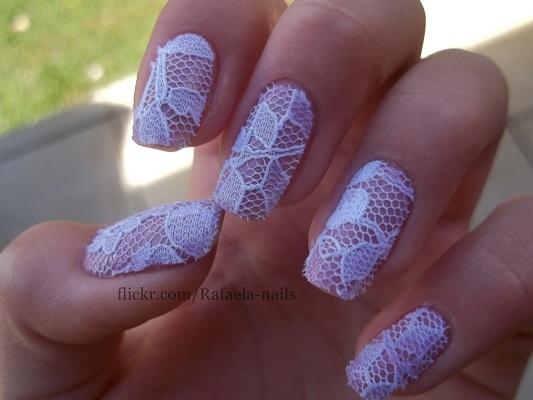 Real Lace Nails