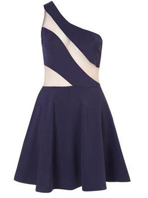 Swirl Mesh Dress by Dress UP TOPSHOP
