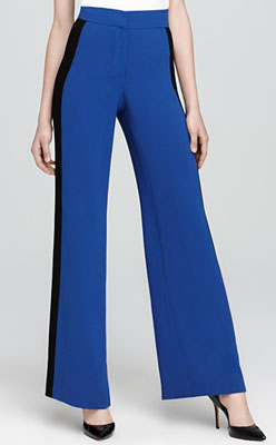 Trina Turk Pants - Cheryl Color Block Wide Leg
