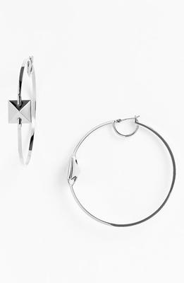 Vince Camuto 'Basics' Pyramid Hoop Earrings