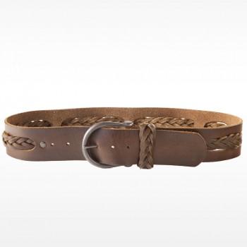 Vintage Hip Belt with Center Braid Detail