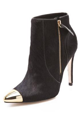 alice + olivia Donnie Haircalf Bootie