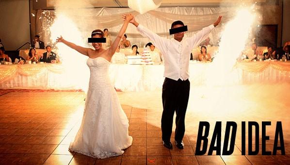 Bad Wedding Ideas | Wedding Tips | Wedding Advice « SHEfinds