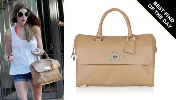 Mulberry s Lana Del Rey Bag Earns Its First (Unofficial) Celebrity  Endorsement 20e09f0771dc6
