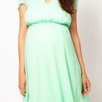 asos-maternity-skater-dress-with-keyhole-neck