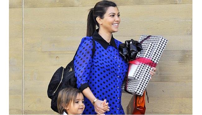 a962fe3139d4 Kourtney Kardashian Makes Her Post-Pregnancy Debut.