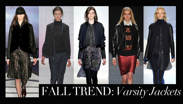 Varsity Jacket Trend | Fall 2012 Trends | Shop Fall 2012