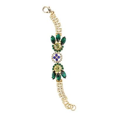 Lulu Frost for J.Crew crystal petal bracelet