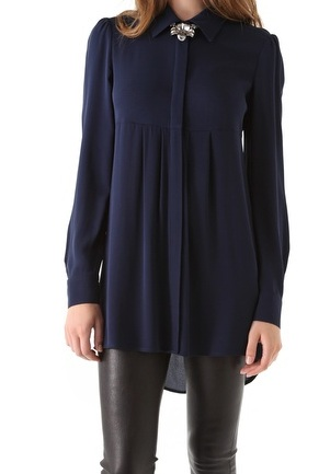Alice & Olivia Woodley Tunic