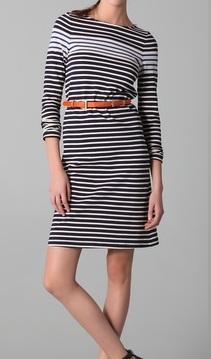 Derek Lam Striped Tunic Dress