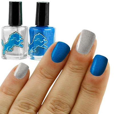 04nfl Dallas Cowboys Two Pack Team Colored Nail Polish