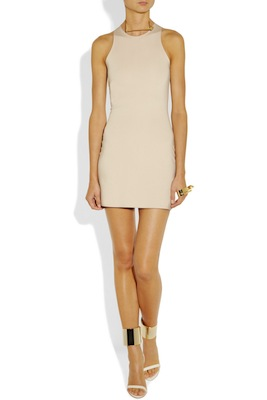 Esteban Cortazar Stretch-crepe mini dress