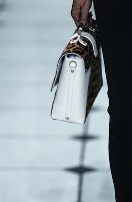 Jason Wu Leopard Print Leather Satchel