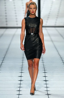Jason Wu Runway Look 1 from Spring 2013