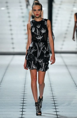Jason Wu Runway Look 12 from Spring 2013