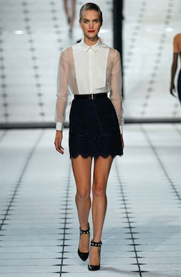 Jason Wu Runway Look 35 from Spring 2013